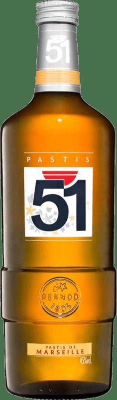 71,95 € Envío gratis | Pastis 51 Francia Botella Especial 4,5 L
