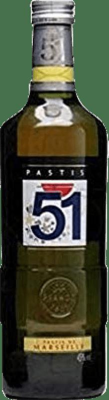 32,95 € 免费送货 | 茴香酒 51 法国 特别的瓶子 2 L