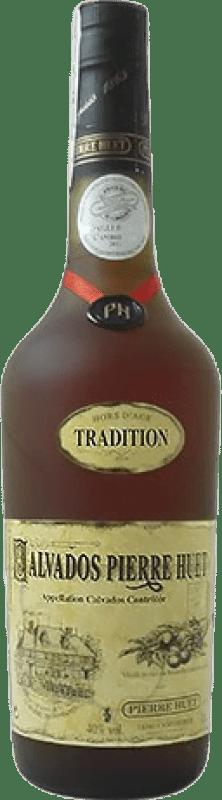 89,95 € Envío gratis | Calvados Pierre Huet Tradition Hors d'Age Francia Botella 70 cl