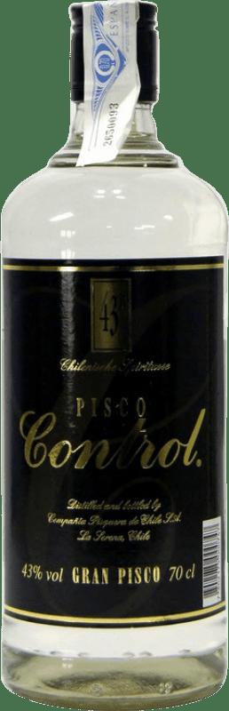 15,95 € Envío gratis   Pisco Control Chile Botella 70 cl