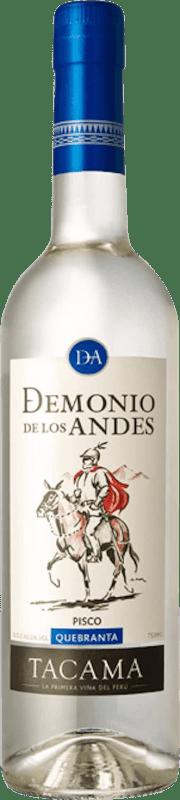 18,95 € Envío gratis   Pisco Viña Tacama Demonio de los Andes Quebranta Perú Botella 70 cl