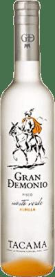 39,95 € 免费送货 | Pisco Viña Tacama Gran Demonio 秘鲁 半瓶 50 cl