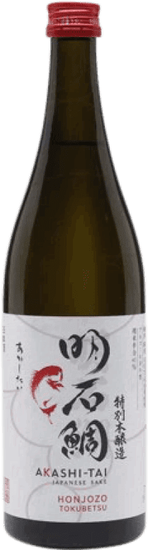 23,95 € Free Shipping | Sake Akashi-Tai Honjozo Japan Bottle 70 cl