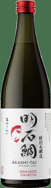 23,95 € Envío gratis | Sake Akashi-Tai Honjozo Japón Botella 70 cl