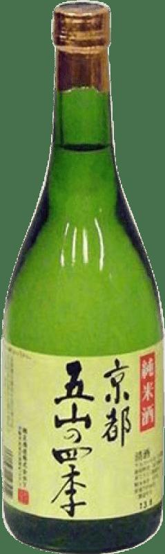 25,95 € Envío gratis | Sake Kyotogozan Japón Botella 72 cl
