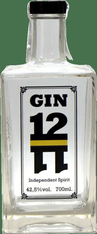37,95 € 免费送货 | 金酒 Gin 1211 西班牙 瓶子 70 cl