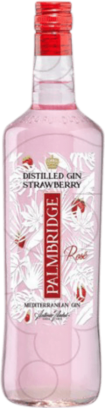 12,95 € Free Shipping | Gin Gin Palmbridge Strawberry Spain Missile Bottle 1 L