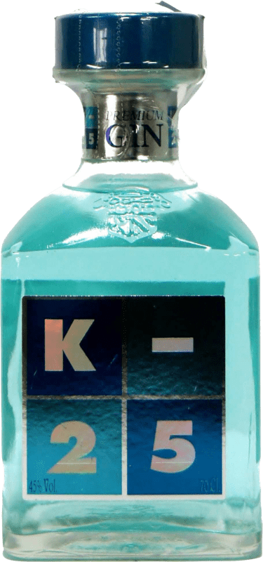 19,95 € Free Shipping | Gin K-25 Premium Gin Spain Bottle 70 cl