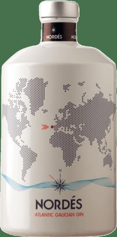 25,95 € Envío gratis | Ginebra Atlantic Galician Nordés Atlantic Gin España Botella 70 cl