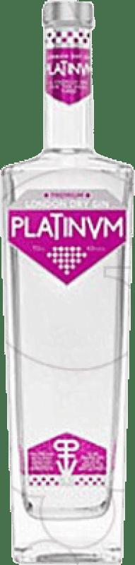 25,95 € 免费送货 | 金酒 Platinvm Gin 西班牙 瓶子 70 cl