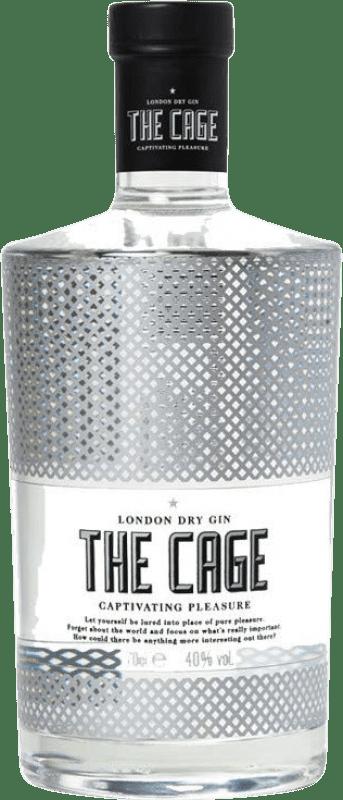 18,95 € 免费送货 | 金酒 The Cage Gin 西班牙 瓶子 70 cl