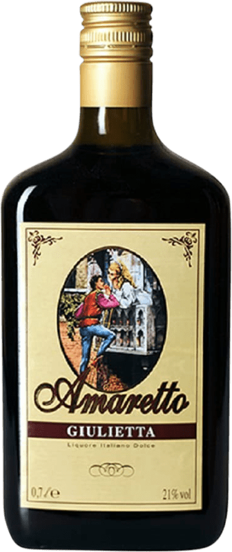 8,95 € Free Shipping | Amaretto Giulietta Italy Bottle 70 cl