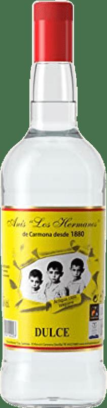 13,95 € 免费送货 | 八角 Anís Los Hermanos 甜美 西班牙 瓶子 Misil 1 L