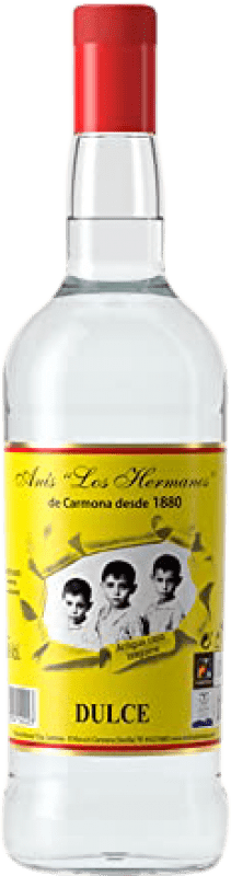 13,95 € Envío gratis | Anisado Anís Los Hermanos Dulce España Botella Misil 1 L