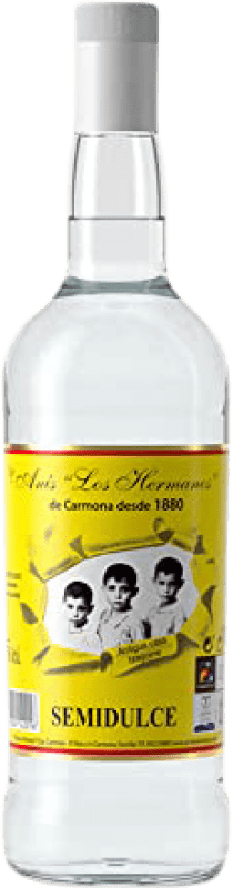 14,95 € Free Shipping | Aniseed Anís Los Hermanos Semi Dry Spain Missile Bottle 1 L