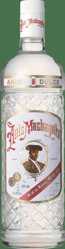 9,95 € 免费送货 | 八角 Anís Machaquito 甜美 西班牙 瓶子 Misil 1 L