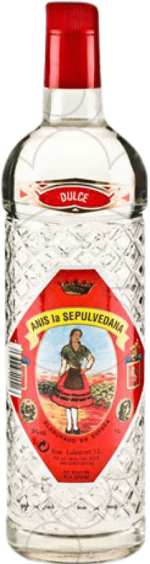 8,95 € Free Shipping | Aniseed Sepulvedana Anís Sweet Spain Missile Bottle 1 L
