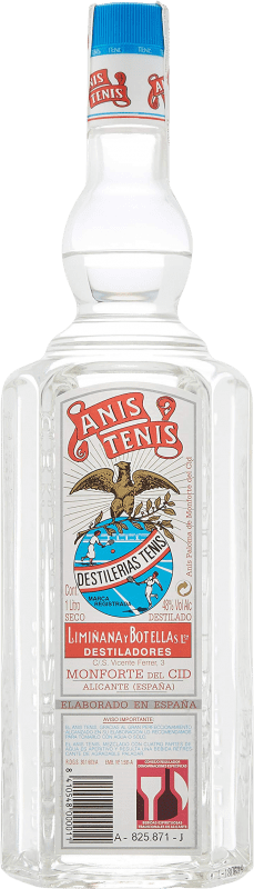 14,95 € Free Shipping | Aniseed Tenis Anís Dry Spain Missile Bottle 1 L