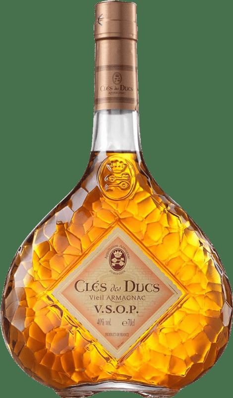 23,95 € Envío gratis   Armagnac Cles de Ducs V.S.O.P. Very Superior Old Pale Francia Botella 70 cl