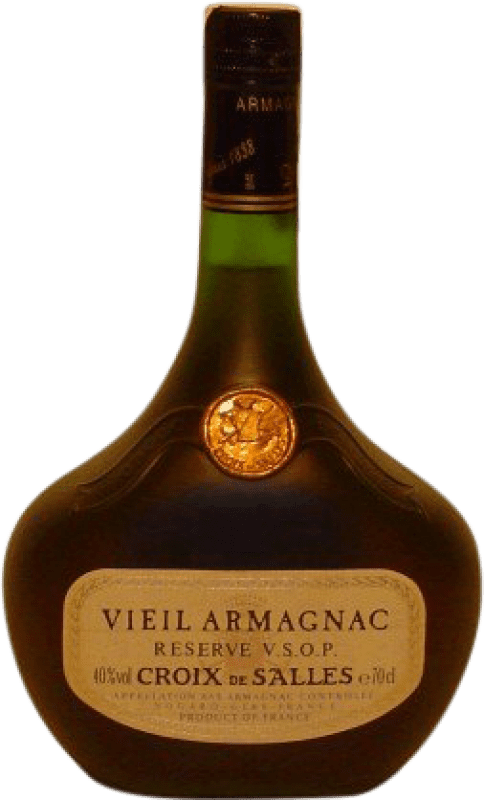 39,95 € | Armagnac Croix de Salles V.S.O.P. Very Superior Old Pale France Bottle 70 cl