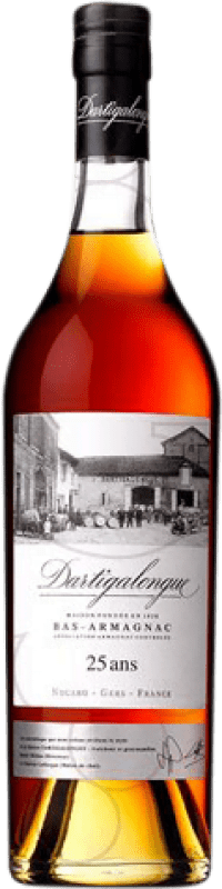 99,95 € Free Shipping | Armagnac Dartigalongue 25 Años France Bottle 70 cl
