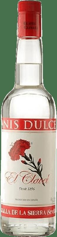 13,95 € Envío gratis | Anisado Cazalla El Clavel Dulce España Botella Misil 1 L