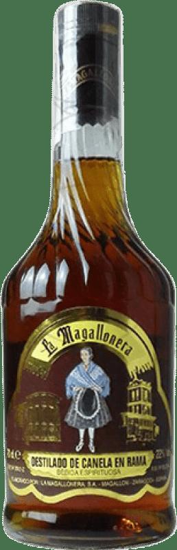 5,95 € Envío gratis | Licores Mistela La Magallonera Canela España Botella 70 cl