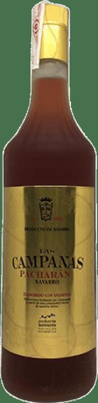 9,95 € Envoi gratuit | Pacharán Las Campanas Espagne Bouteille Missile 1 L