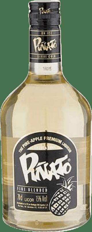 9,95 € 免费送货 | 利口酒 Piñato Pineapple Licor de Whisky 西班牙 瓶子 70 cl