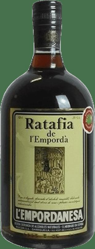 9,95 € Envoi gratuit | Digestif Ratafia l'Empordanesa Espagne Bouteille 70 cl