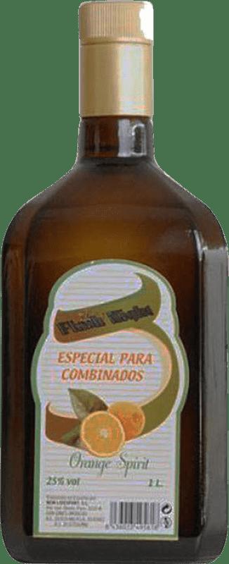 9,95 € Envío gratis | Triple Seco Flash Night España Botella Misil 1 L