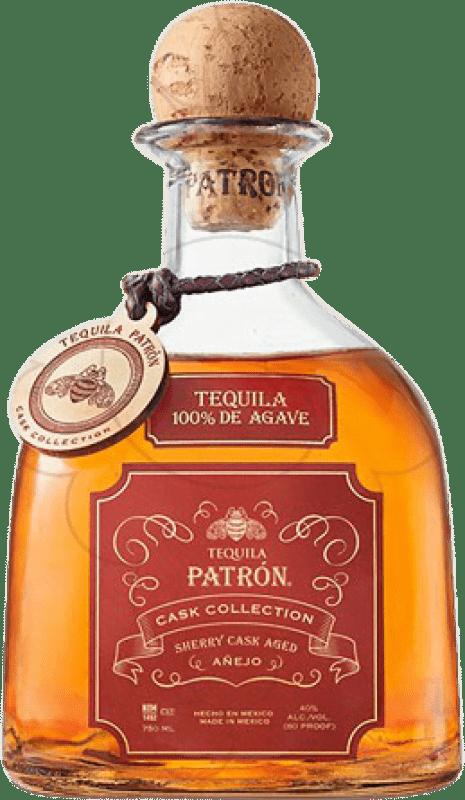 59,95 € | Tequila Patrón Sherry Cask Añejo Mexico Bottle 70 cl
