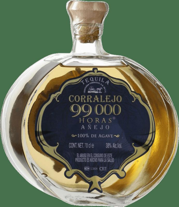 73,95 € Envío gratis | Tequila Corralejo 99000 horas Añejo Mexico Botella 70 cl