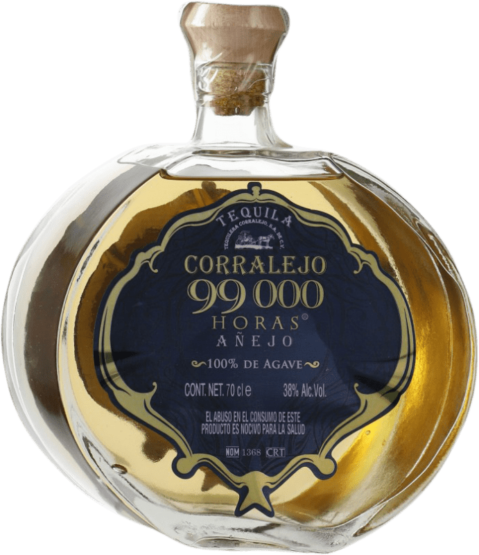 73,95 € Free Shipping | Tequila Corralejo 99000 horas Añejo Mexico Bottle 70 cl