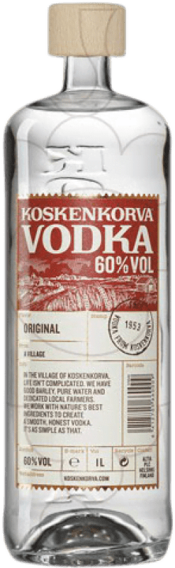 19,95 € | Vodka Koskenkorva 013 60% Finland Missile Bottle 1 L