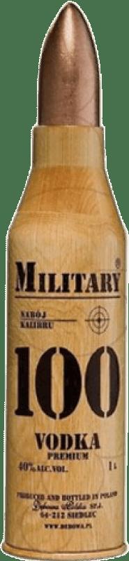 39,95 € | Vodka Military 100 Poland Missile Bottle 1 L