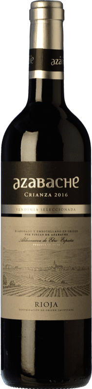 5,95 € | Red wine Azabache Crianza D.O.Ca. Rioja The Rioja Spain Bottle 75 cl