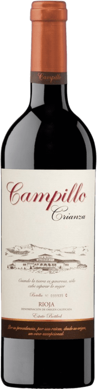 22,95 € | Red wine Campillo Crianza D.O.Ca. Rioja The Rioja Spain Tempranillo Magnum Bottle 1,5 L