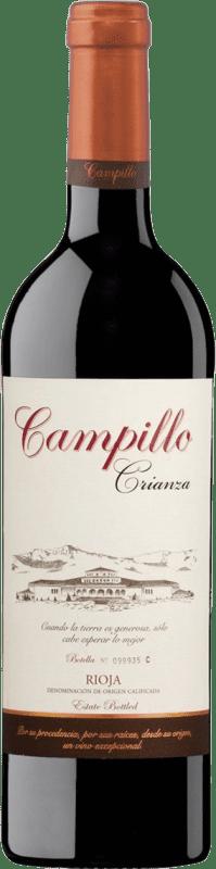 25,95 € Envío gratis | Vino tinto Campillo Crianza D.O.Ca. Rioja La Rioja España Tempranillo Botella Mágnum 1,5 L