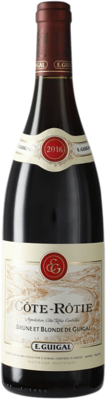 76,95 € Free Shipping | Red wine Domaine E. Guigal A.O.C. Côte-Rôtie France Bottle 75 cl