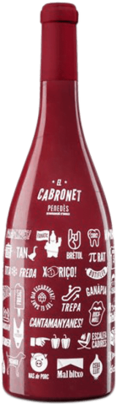15,95 € | Red wine El Cabronet Negre Crianza D.O. Penedès Catalonia Spain Cabernet Sauvignon Magnum Bottle 1,5 L
