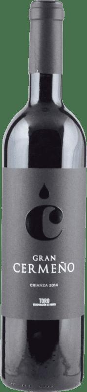 6,95 € | 红酒 Gran Cermeño Crianza D.O. Toro 卡斯蒂利亚莱昂 西班牙 Tempranillo 瓶子 75 cl