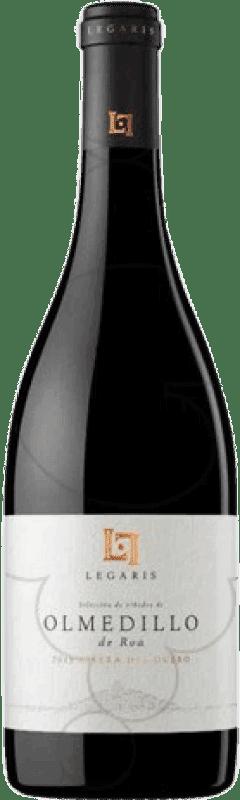 34,95 € 免费送货 | 红酒 Legaris Olmedillo de Roa D.O. Ribera del Duero 卡斯蒂利亚莱昂 西班牙 Tempranillo 瓶子 75 cl