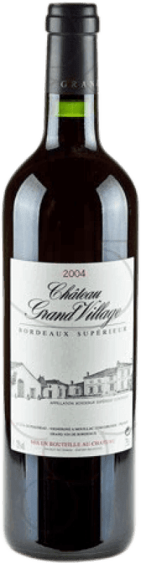 18,95 € | Red wine Jean-Pierre Moueix Château Grand Village A.O.C. Bordeaux France Merlot, Cabernet Franc Bottle 75 cl