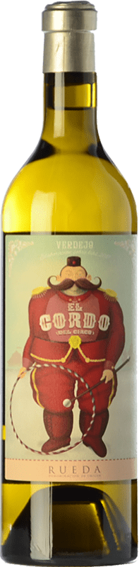 13,95 € Free Shipping | White wine El Gordo del Circo Joven D.O. Rueda Castilla y León Spain Verdejo Bottle 75 cl