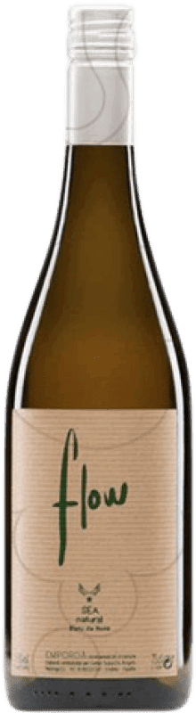 11,95 € Envío gratis | Vino blanco Flow Joven D.O. Empordà Cataluña España Picapoll, Cariñena Blanca Botella 75 cl