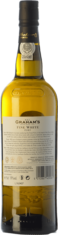 8,95 € Free Shipping   Fortified wine Graham's Blanco Oporto I.G. Porto Portugal Malvasía, Códega, Rabigato, Viosinho Bottle 75 cl