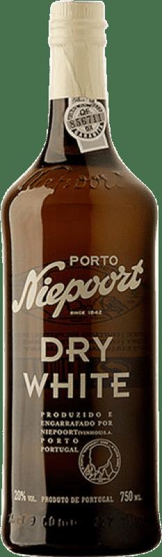 9,95 € 免费送货 | 强化酒 Niepoort Blanco Oporto 干 I.G. Porto 葡萄牙 Malvasía, Godello, Rabigato 瓶子 75 cl