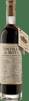 47,95 € Envío gratis | Vino generoso Finca Moncloa de Rota I.G.P. Vino de la Tierra de Cádiz Andalucía y Extremadura España Tintilla Media Botella 50 cl