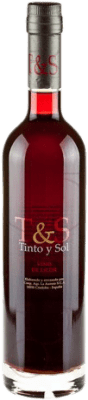 15,95 € 免费送货 | 强化酒 Tinto y Sol Andalucía y Extremadura 西班牙 Merlot 半瓶 50 cl